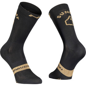Northwave Sunday Monday Fietssokken, black/gold